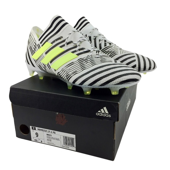 e91414ec553 adidas Mens Nemeziz 17.1 FG Soccer Cleats